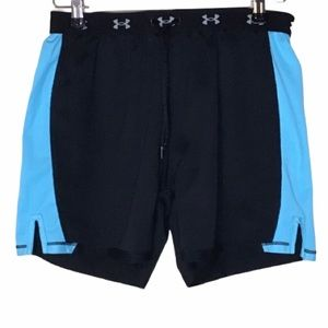 UNDER ARMOUR SHORTS TWO TONE ATHLETIC SHORTS